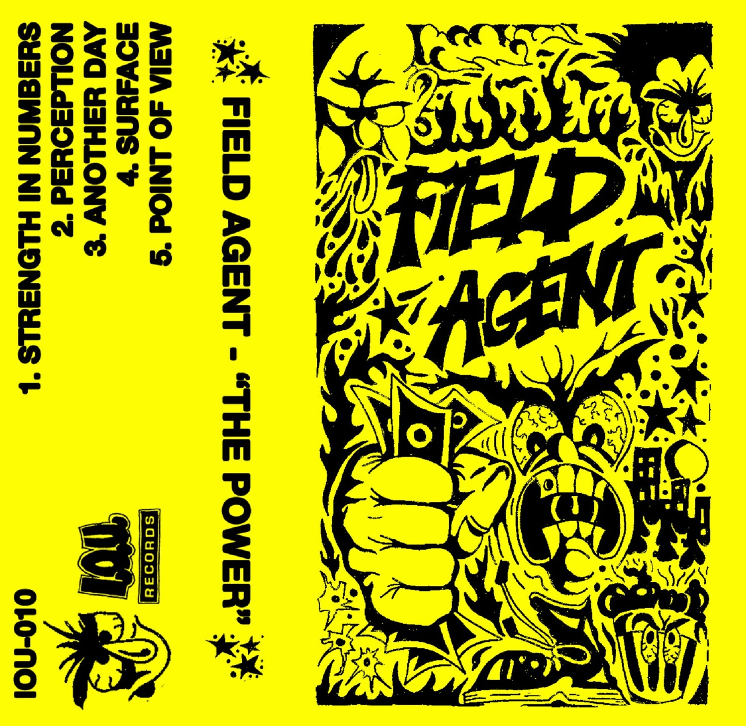 "Image of IOU #10 - Field Agent ""The Power"" Tape"