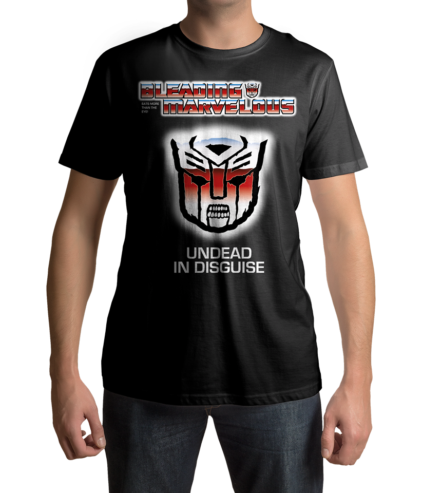 Image of Bleading Marvelous Unded in Disguise T-shirt