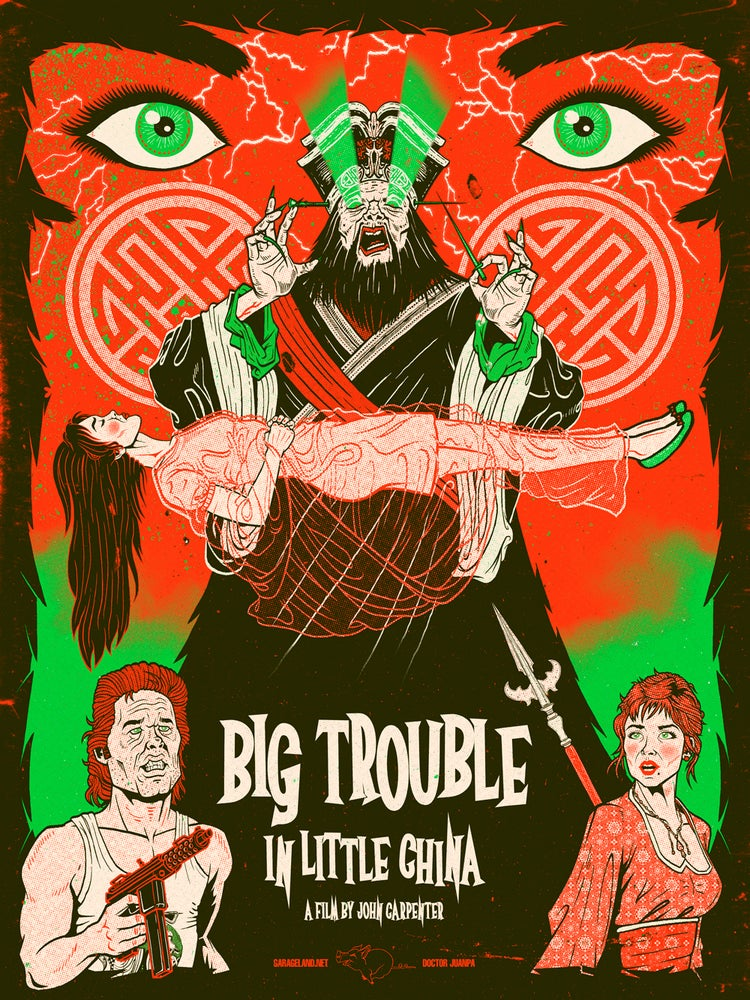 Image of Big Trouble in Little China Poster (Regular)
