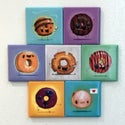Jasper Old Fashioned Donut Magnet