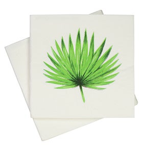Image of Palm Leaf Napkins