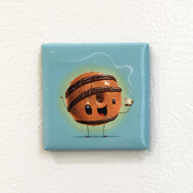 Image of Pip's Dirty Wu Donut Magnet
