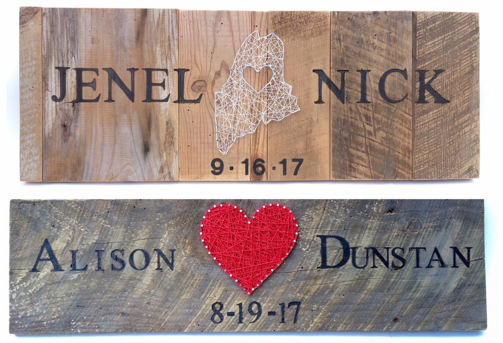 Image of Custom Wedding gifts