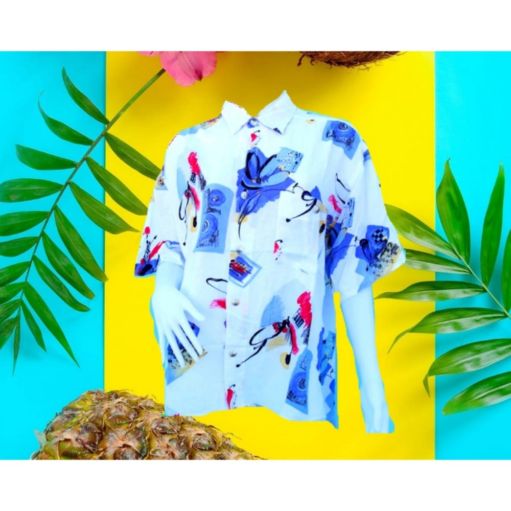Image of CAMISA HAWAIIAN ART