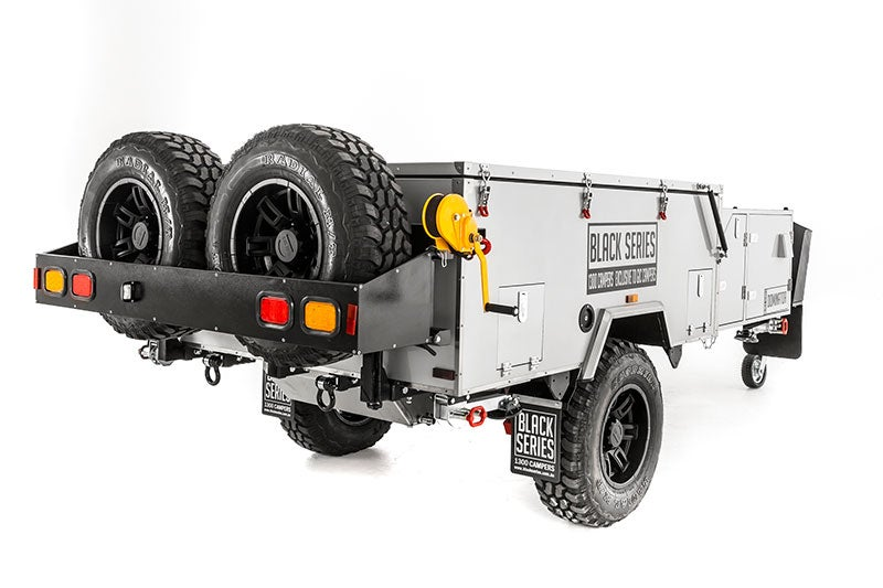 "Image of Black series campers ""DOMINATOR CAMPER TRAILER"""