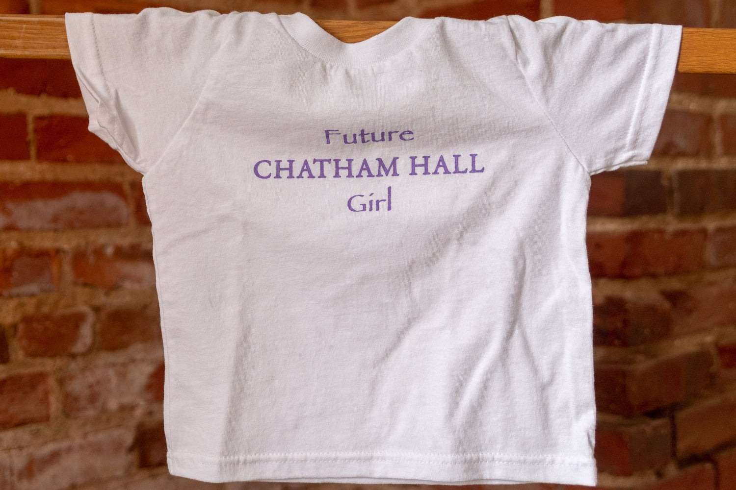 Image of 'Future Chatham Hall Girl' Baby/Toddler Tee