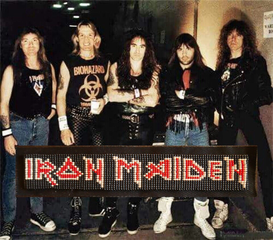 Image of Iron Maiden patch