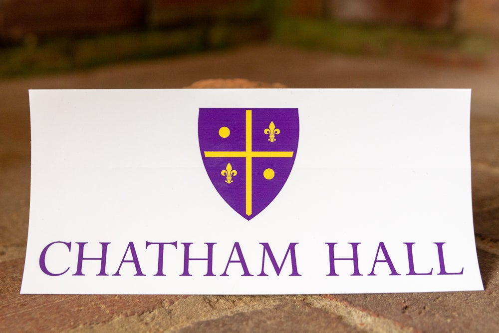 Image of Chatham Hall Shield Sticker