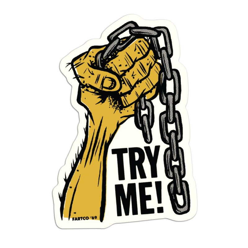 Image of Try Me Sticker