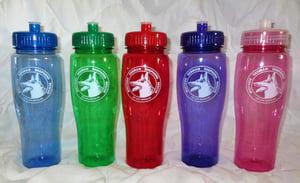 Image of 24 oz BPA-free plastic reusable water bottle