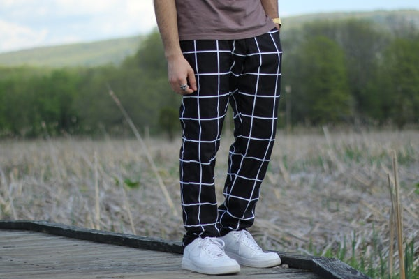 Image of Grid Pants