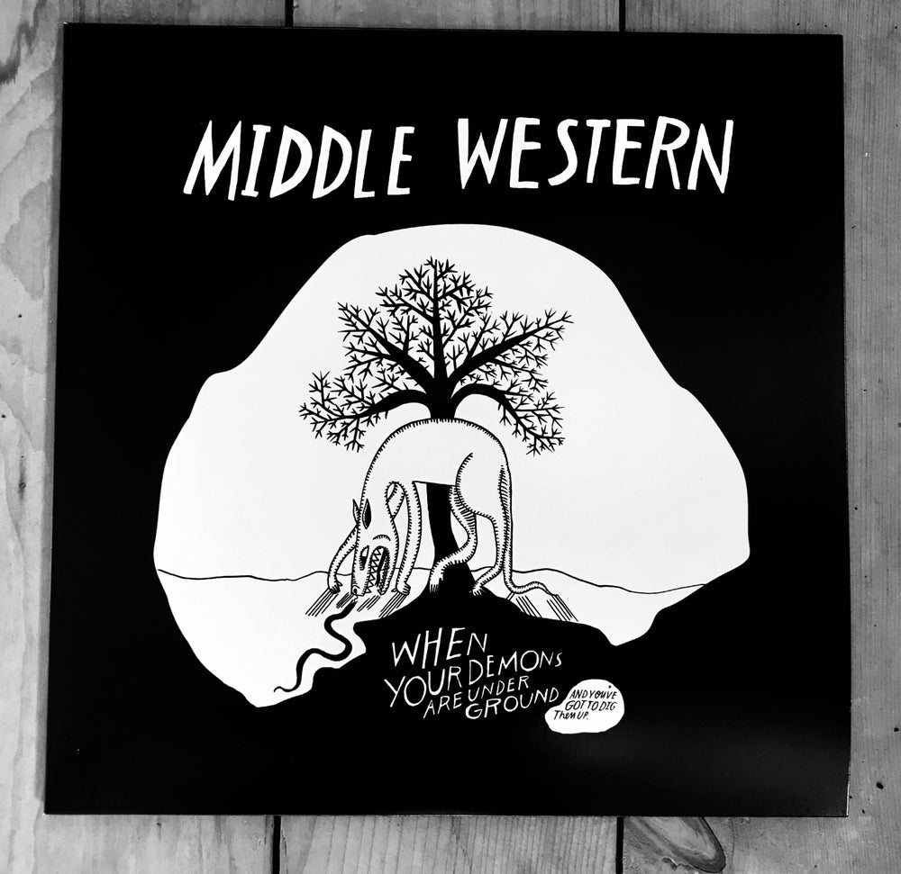 Image of Middle Western  **Preorder- CD**