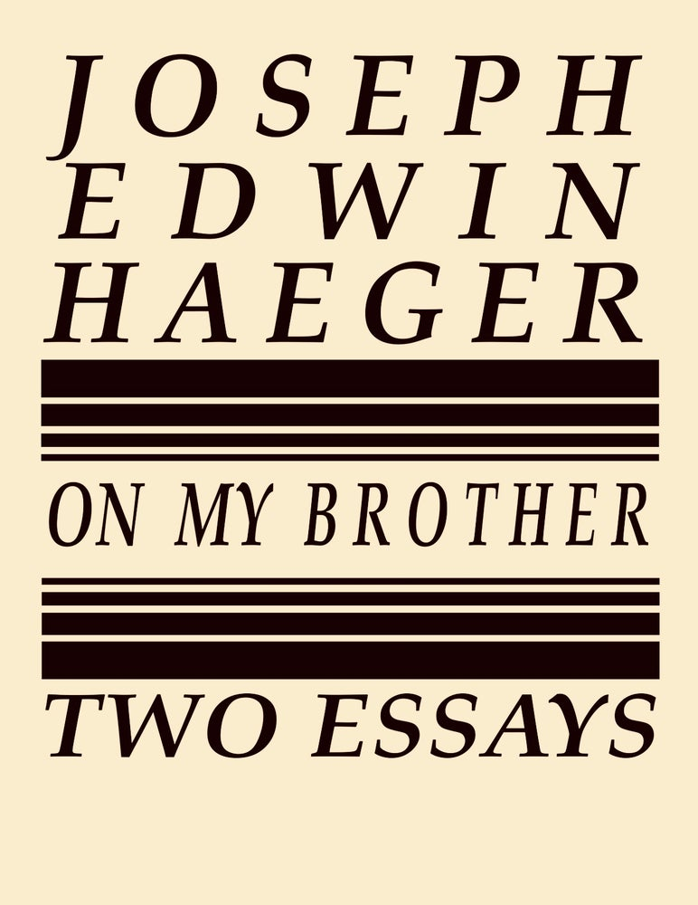 Image of On My Brother by Joseph Edwin Haeger