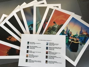 Image of Terry Oakes postcard collection v1