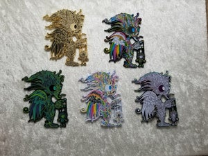 Image of Alien Puppeteer 5 Pin Set