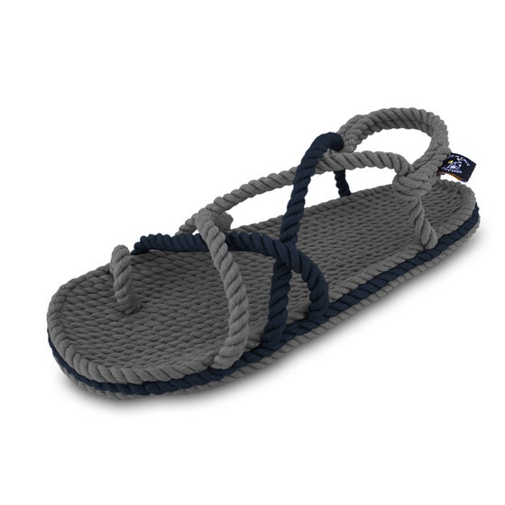 Image of Toe joe grey navy Blue
