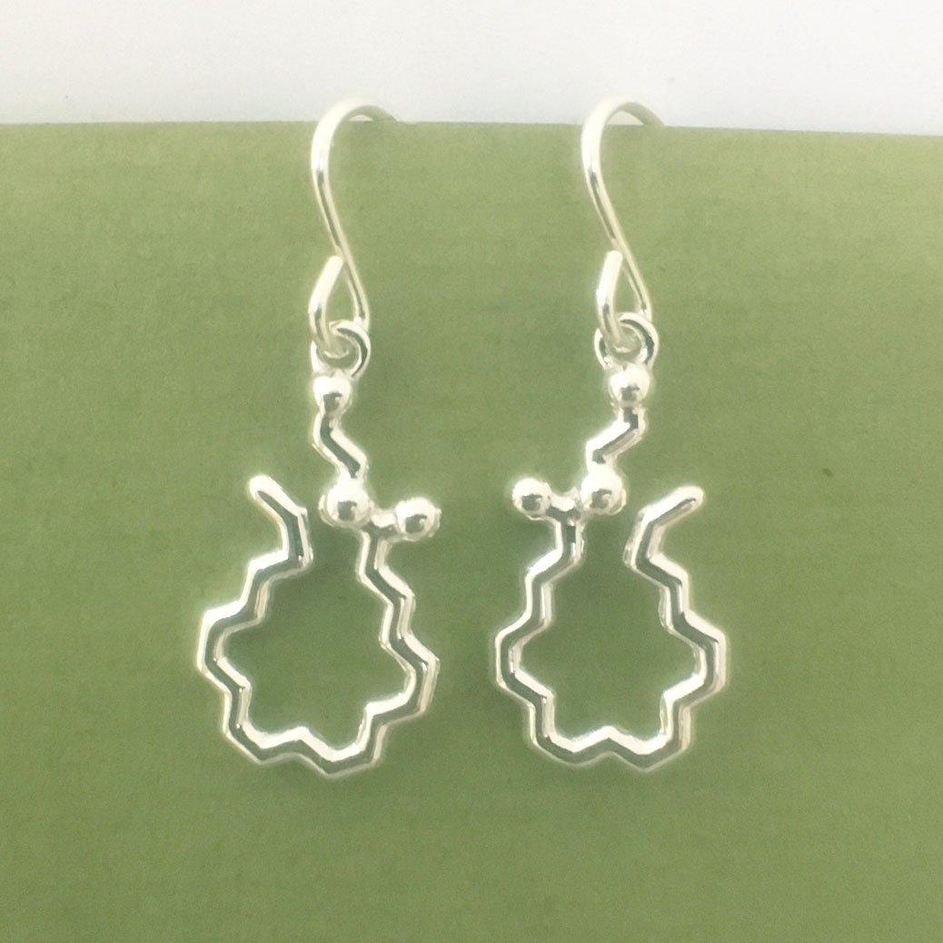 Image of anandamide earrings