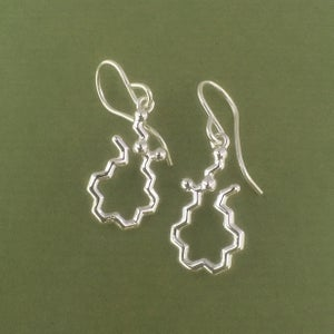Image of anandamide earrings