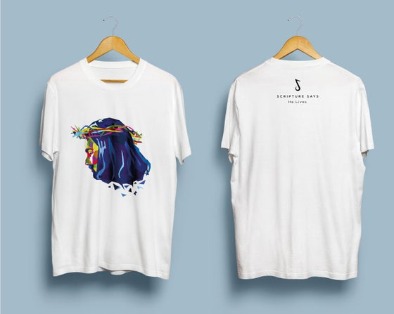 Image of He Lives T-Shirt (White)