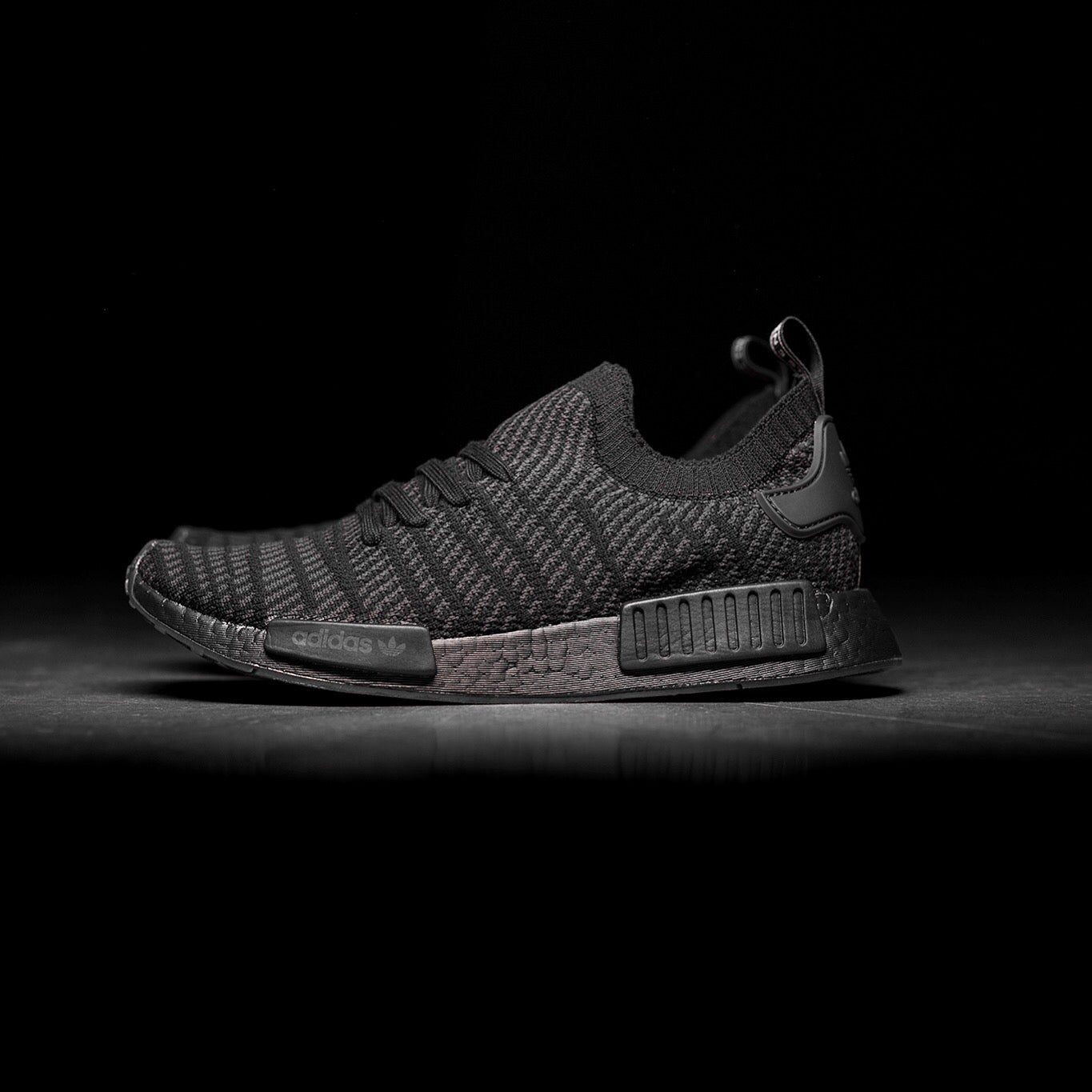 "detailed look 96f10 f8b4b Adidas NMD R1 STLT ""Black"""