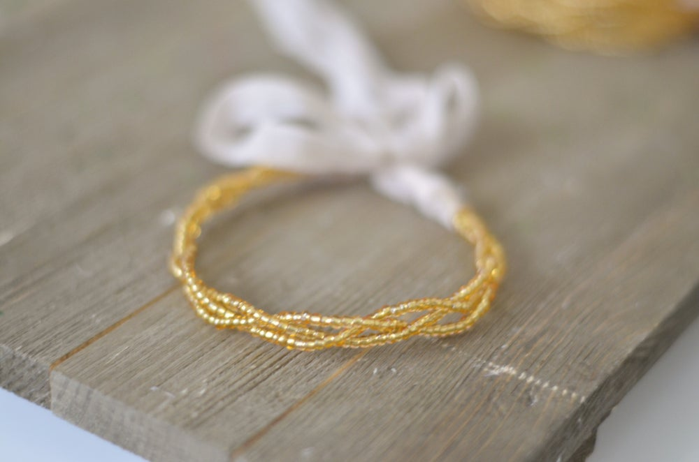Image of Braided golden halo