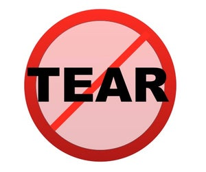 Image of NO TEAR