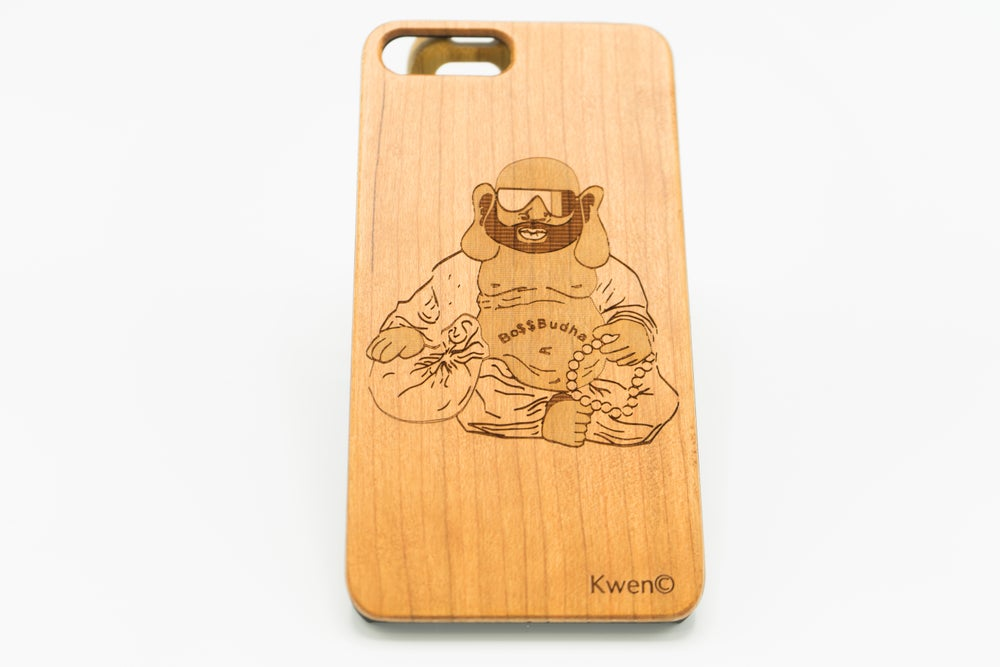 Image of Boss Buddha Custom iPhone case