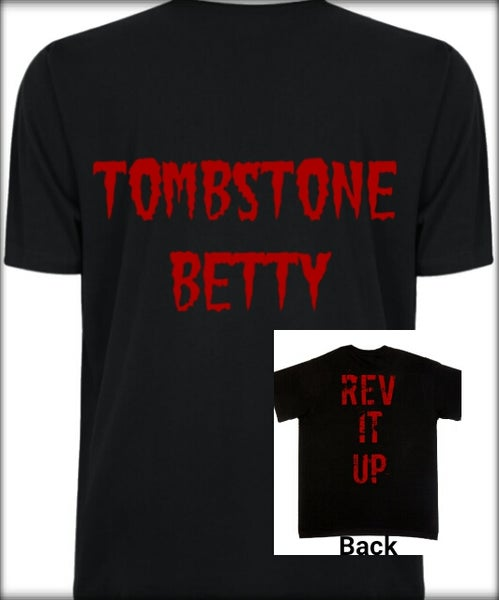 Image of Mens' Tombstone Betty logo tee