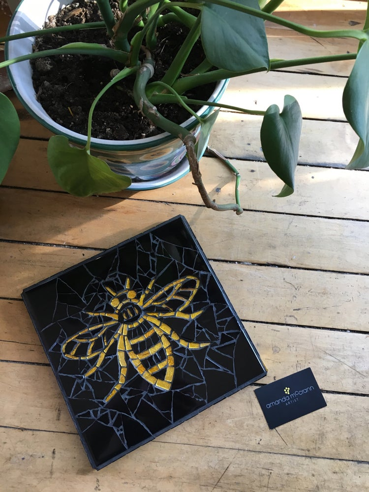Image of LIMITED EDITION • BLACK & GOLD BEE