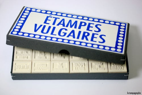 Image of Étampes Vulgaires. French Canadian vulgar stamps.