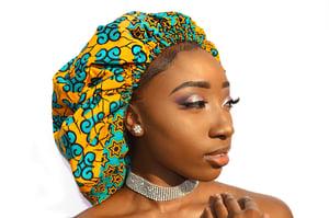 Image of Yemi Satin Bonnet