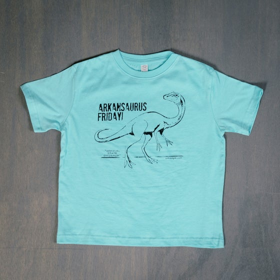 Image of Arkansaurus kids shirt