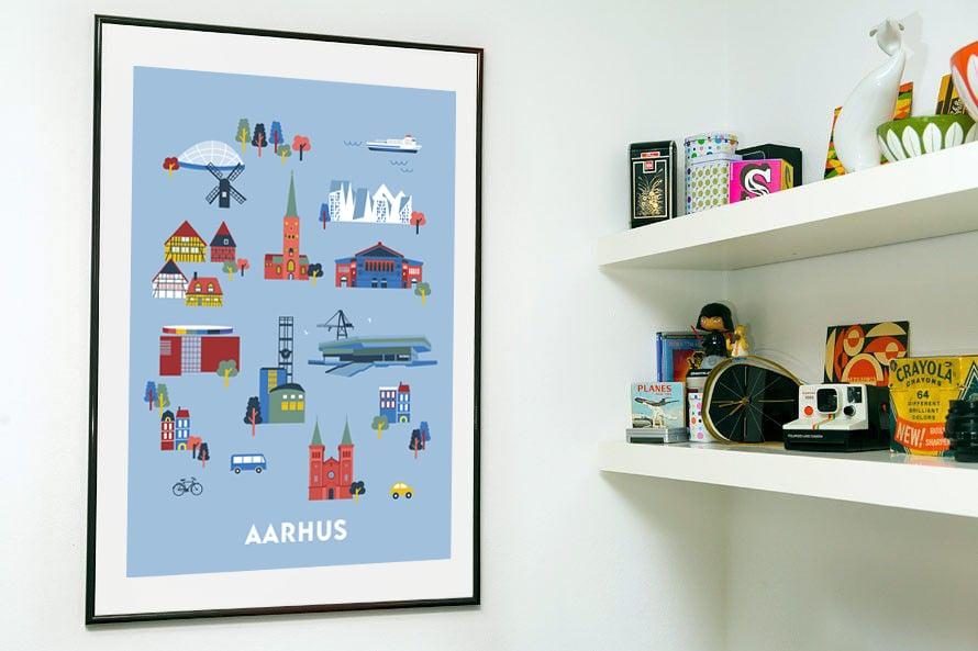 Image of Poster Δarhus