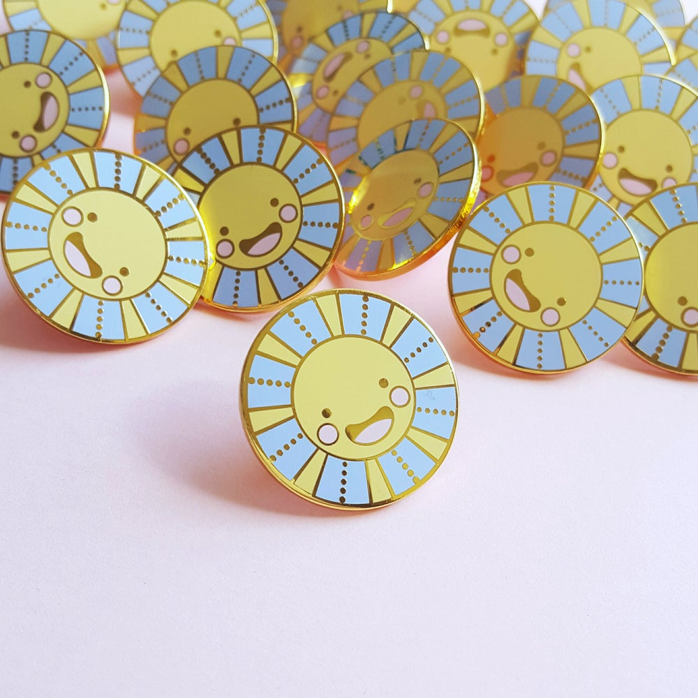 Image of Sally Sunshine Hard Enamel Pin