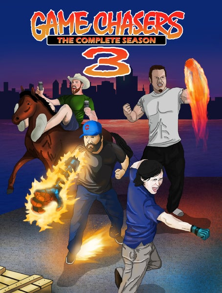 Image of The Game Chasers Season 3 DVD
