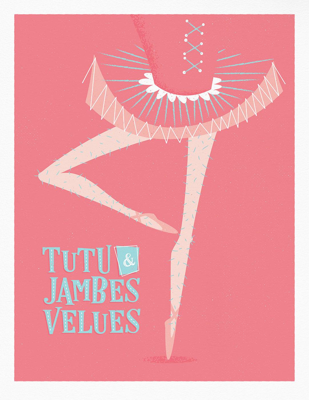 Image of Tutu & Jambes Velue