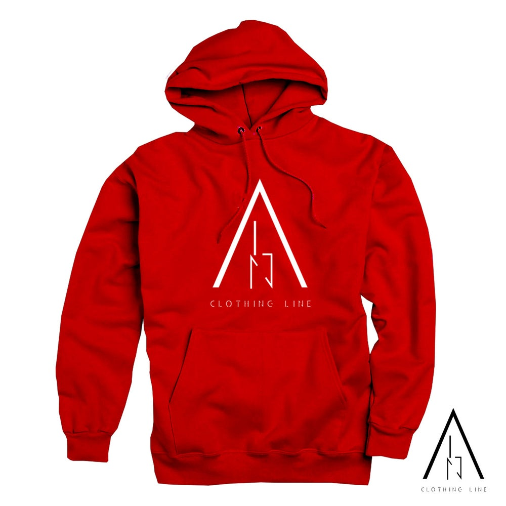 Image of Unisex Red ALN Hoodie
