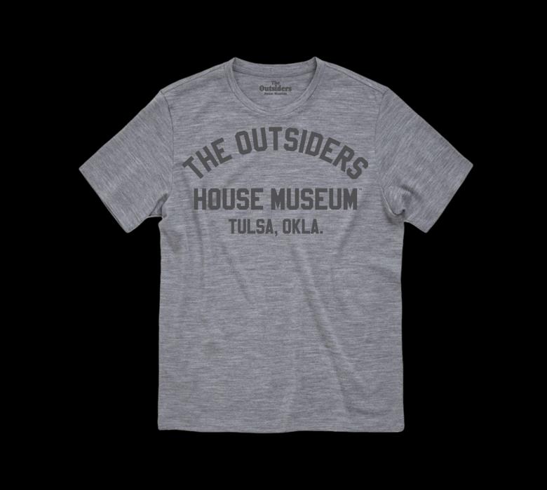 Image of The Outsiders House Museum Tulsa, Okla. (Grey)
