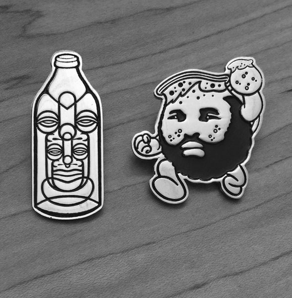 Image of KOOL AID T & CAWAMA SILVER PIN SET