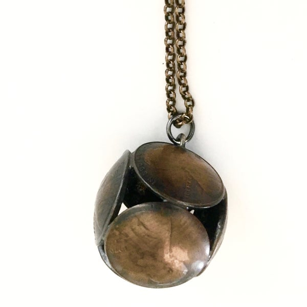 Image of Abe Ball Necklace by Stacey Lee Webber (Philadelphia)