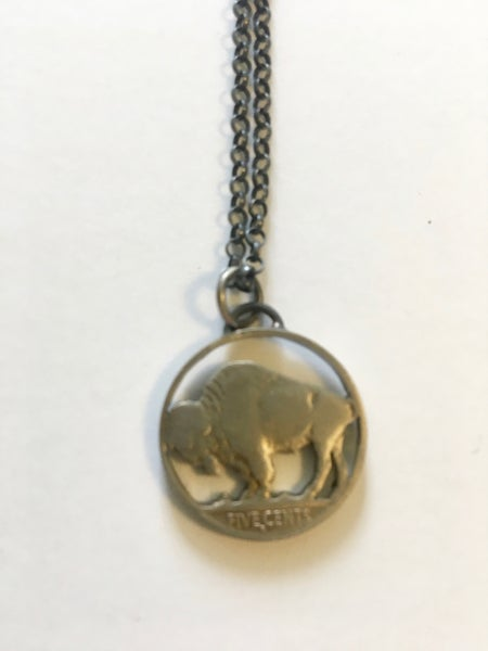 Image of Buffalo Pendant by Stacey Lee Webber