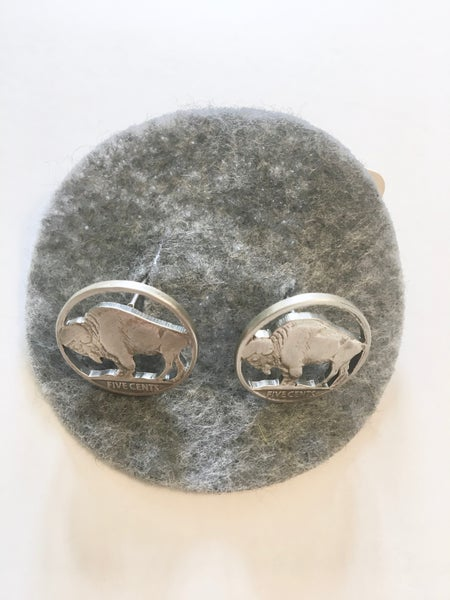 Image of Buffalo Cufflinks by Stacey Lee Webber