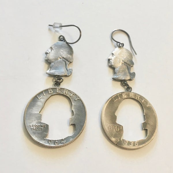 Image of George and MIA Drop Earrings by Stacey Lee Webber