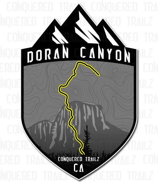 "Image of ""Doran Canyon"" Trail Badge"