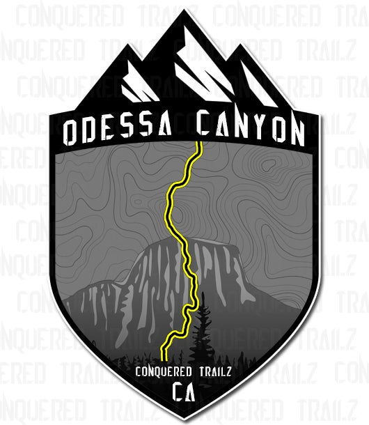 "Image of ""Odessa Canyon"" Trail Badge"