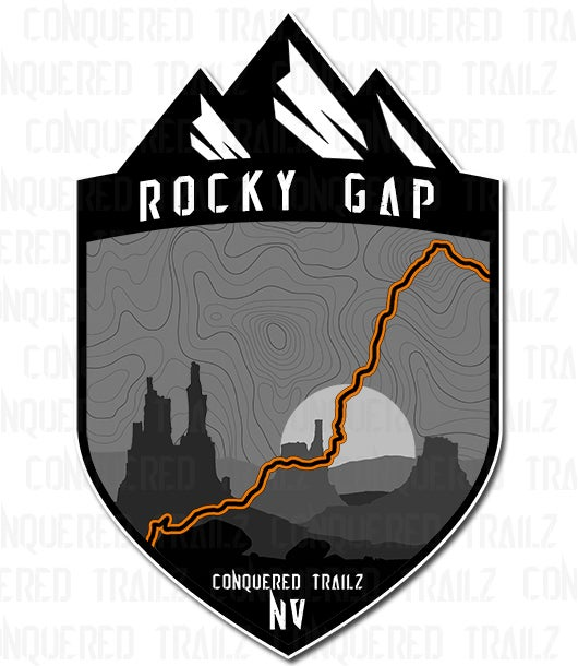 "Image of ""Rocky Gap / Potato Ridge"" Trail Badge"