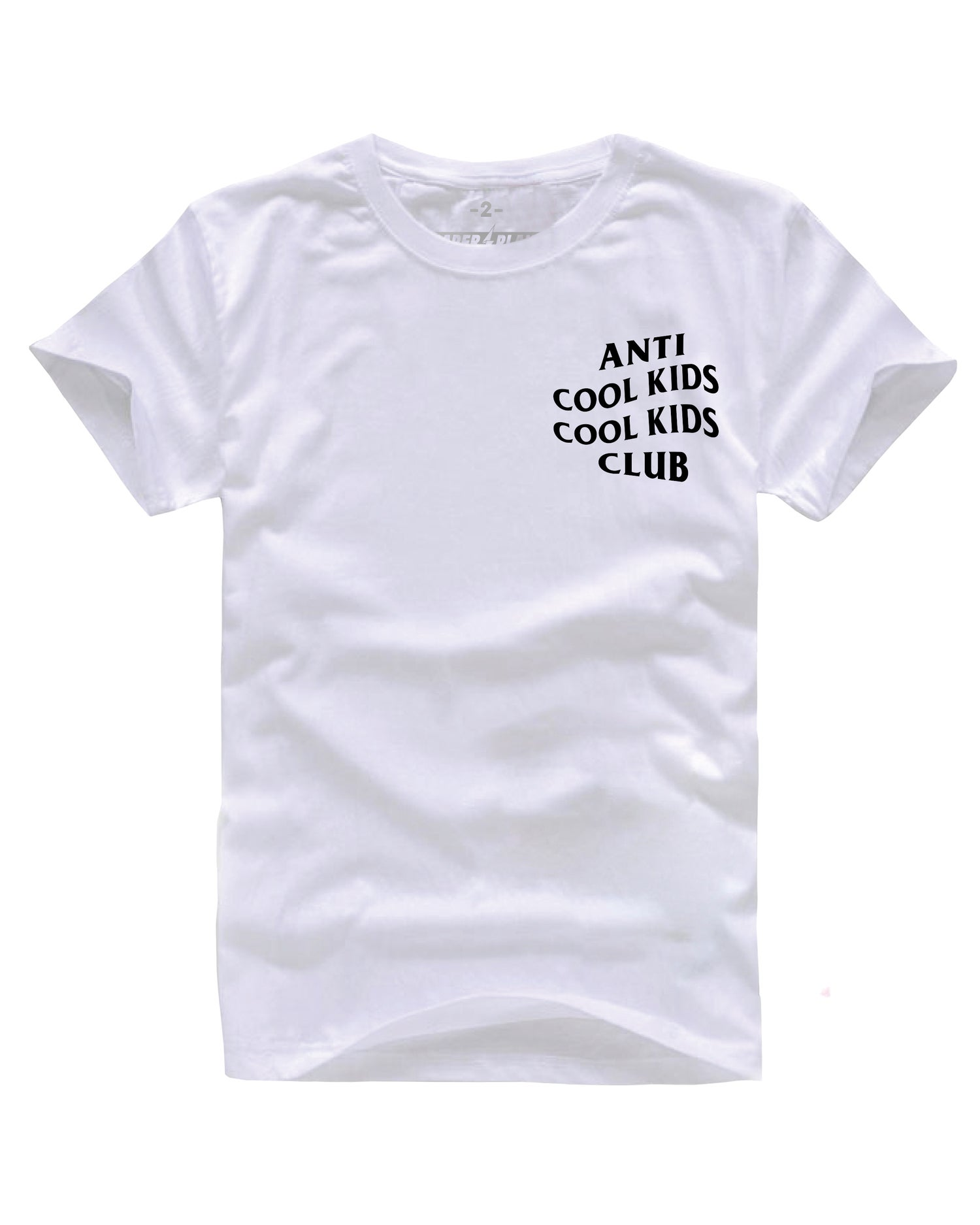 Image of ANTI COOL KIDS WHITE/BLACK