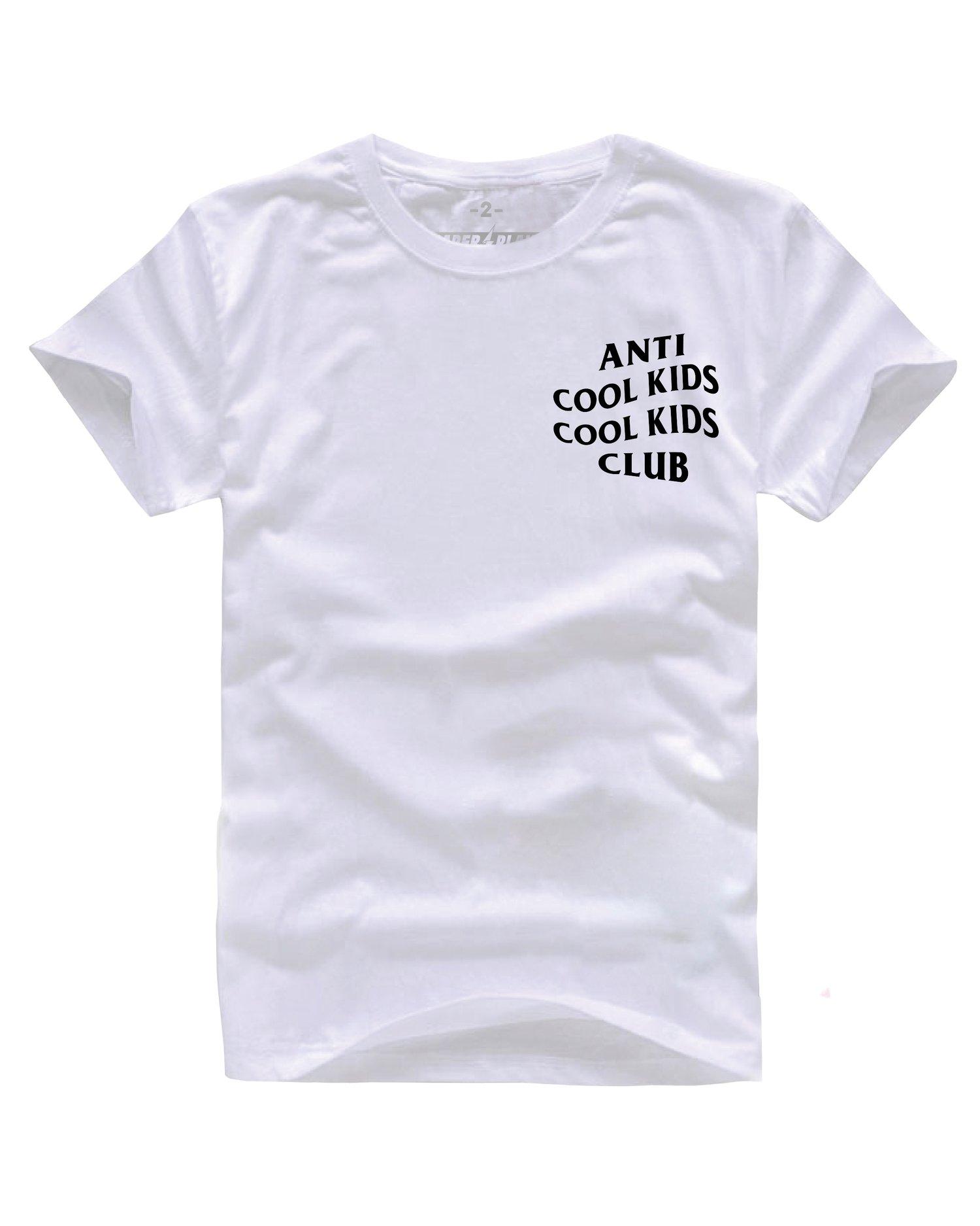 Image of ANTI COOL KIDS WHITE/BLACK