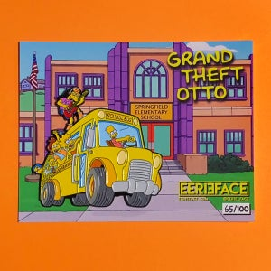 """Image of Grand Theft Otto- 3"""" LE Enamel Pin"""