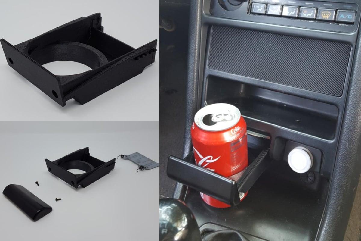 Acura Integra Parts >> 88-91 Honda CRX Ash Tray Cup Holder   3d Printed Car Parts ...